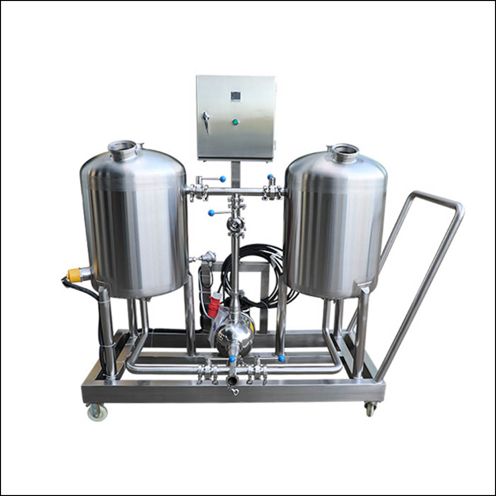 Large two tanks cip system