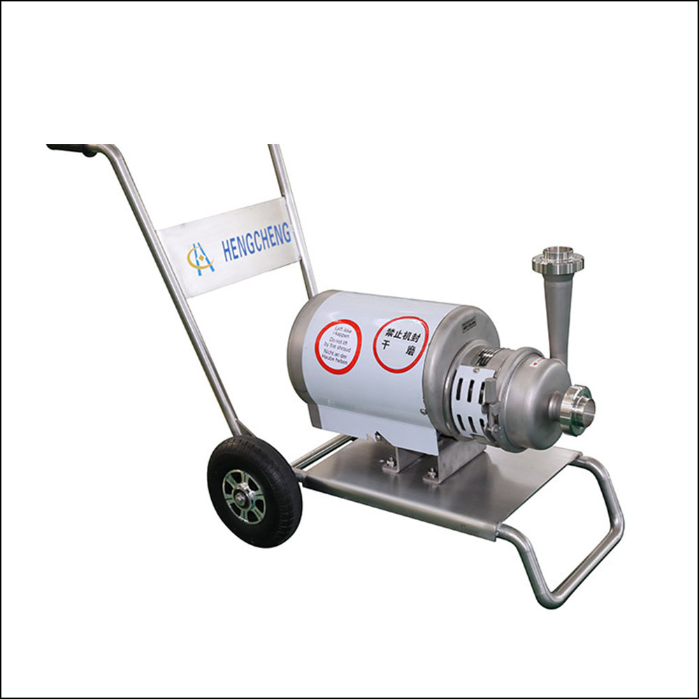 Stainless Steel Sanitary Beer Movable Centrifugal Pump